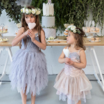 Soft Pastel Flower Girl Dresses