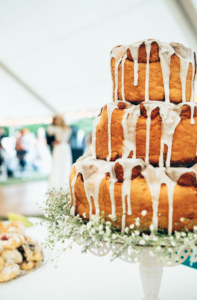 Cinnamon Roll Wedding Cake