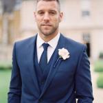 Groom Suits - Trendy Blue
