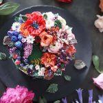 Wedding Cake Trends - Bouquet Cakes