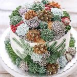 Wedding Cake Trends - Succulent Cakes