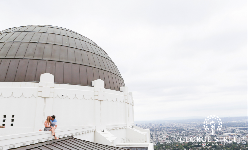 griffith observatory engagement photo - top engagement photo locations in los angeles