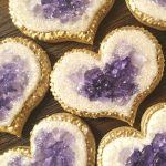 Trendy Dessert Dishes 2019 - Geode Cookies