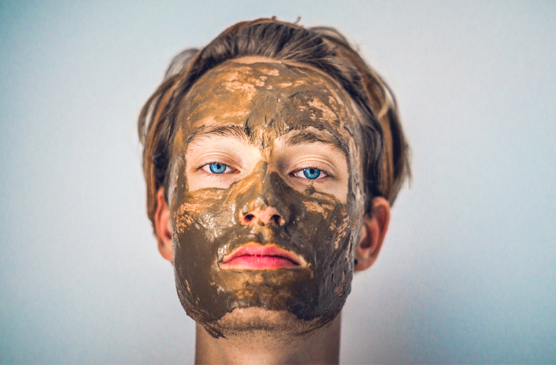 Wedding Makeup - Woman Wearing Mud Mask
