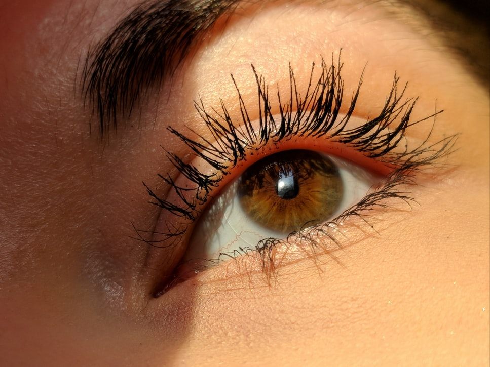 Wedding Makeup - Close Up Image Of Female Eyes