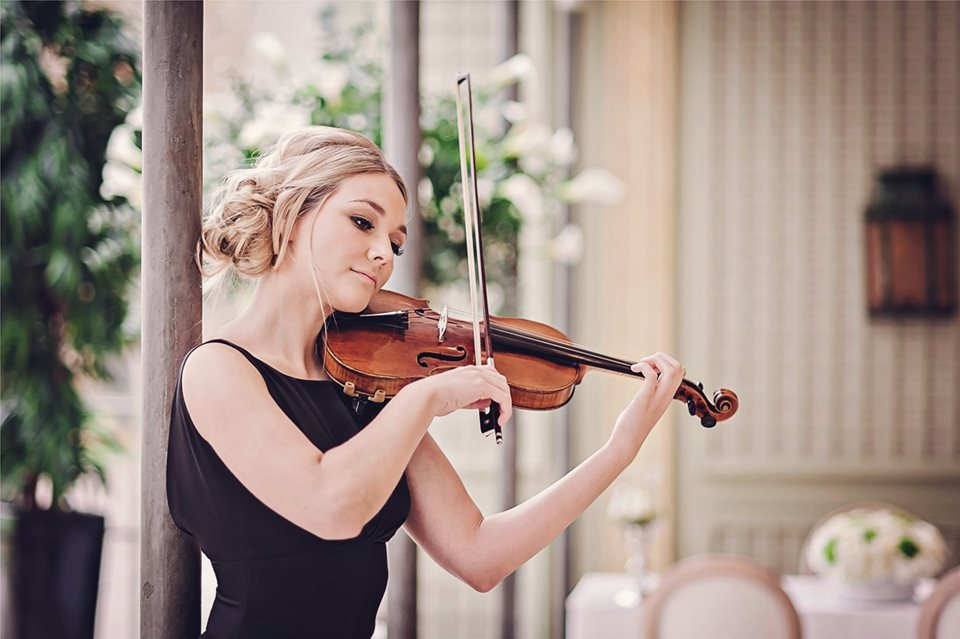 Party Band - Classic Violinist At A Formal Event