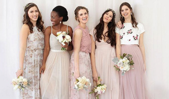 Wedding Dress Traditions - Women Wearing Mix And Match Dresses