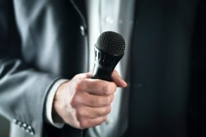 Microphone with suit