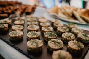 Food trays for wedding